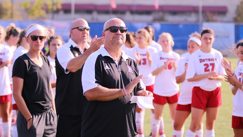 Longtime Women's Soccer Head Coach Mike Lupenec Resigns - University of Detroit Mercy Athletics