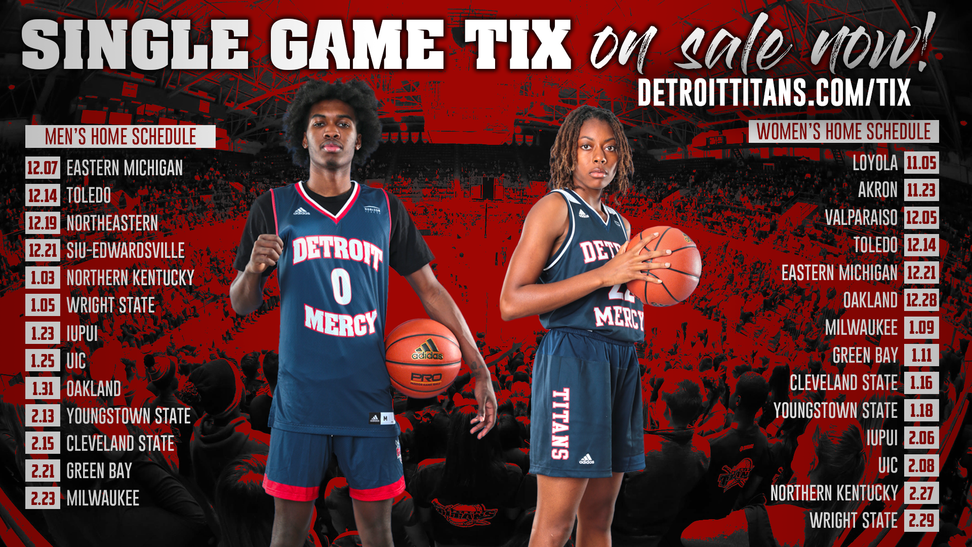 Men S Women S Basketball Single Game Tickets Now On Sale
