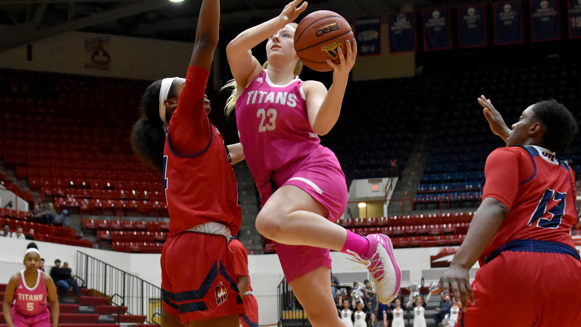 Titans Host Jaguars for Pink Game, National Girls & Women in Sports